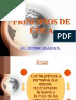 PRINCIPIOS D LA ETICA