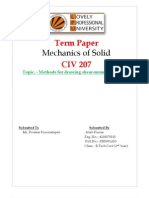 Methods for drawing shear-moment diagrams-RH5001A53 Atish Kumar CIV 207