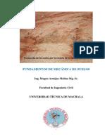Fundamentos de mecánica de de suelos