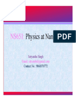 Physics at nanoscale ch 1