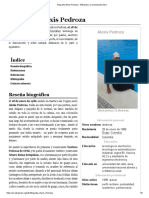 Biografia Alexis Pedroza - Wikipedia, La Enciclopedia Libre