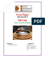 Foucault Pendulum-RH5001A53 Atish Kumar PHY 104