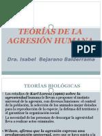 Teorias de La Agresion Humana