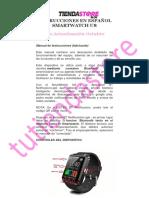 Instrucciones en Español Smartwatch u8 2