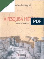 A Pesquisa Histórica