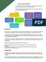 Proceso Administrativo (Tema 1)
