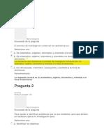 Evaluacion Investigacion de Mercados U1