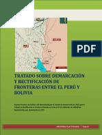 Tratado Sobre Demarcación y Rectificación de Fronteras Entre El Perú y Bolivia
