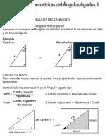Razones Trigonométricas Del Ángulos Agudos II
