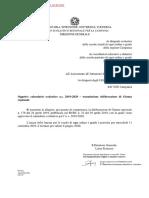 Calendario Scolastico a.s. 2019 2020 m Pi.aoodrca.registro Ufficialeu.0010951.02!05!2019