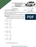 Examen Remedial Matematicas Segundos de Bachillerato