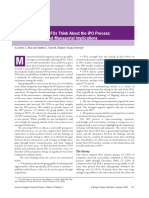 Brau et al evidence of what CFOs think about IPO.PDF