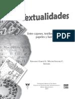 Fernando Garcés y Walter Sánchez. Textualidades entre cajones, textiles, cueros, papeles y barro.pdf