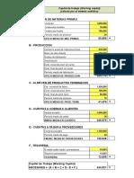 Planilla de Excel Para El Calculo Del Capital de Trabajo Working Capital