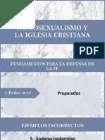 Homosexualidad en la iglesia