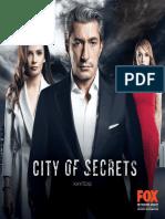 City of Secrets Sales Sheet