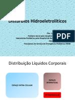 Distúrbios Hidroeletrolíticos Para Residentes
