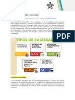 Anexo 04 - Tipos de Sociedades en Colombia