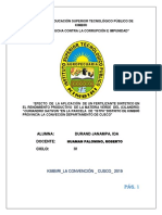 Investigacion de Culantro