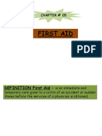 5 First Aid