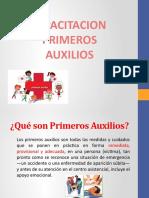 CAPACITACION PRIMEROS AUXILIOS