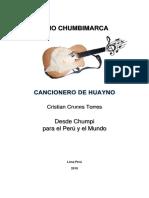 Cancionero de Huayno 2019 Trio Chumbimarca