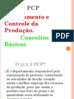1 aula de pcp
