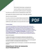 Radiación Electromagnetica,Teoria Ondulatoria y Cuantica de La Luz.