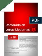 Info Doctorado Letras Modernas Pre Pnpc 2017