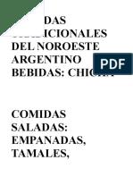 COMIDAS TRADICIONALES DEL NOROESTE ARGENTINO.doc