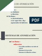 Sistemas de atomización