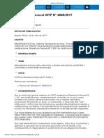 Rg 4085-17 Sistema Declaración en Línea