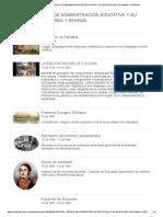 Linea Del Tiempo de Administración Educativa y Su Gestión en Colombia y Panamá