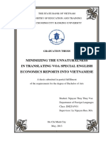 THESIS_Minimizing the Unnaturalness in Translating VOA News