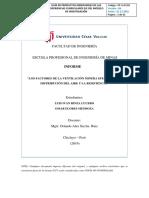 Trabajo-De-factores de Ventilacion-En-mina Para La Distribución de Aire