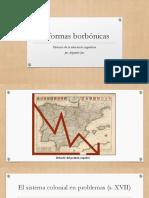 Reformas Borbónicas