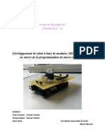 Rapport_robot mobile