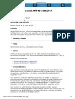 Rg 4066-17 Declaraciones Juradas Rectificativas de Aportes y Contribuciones