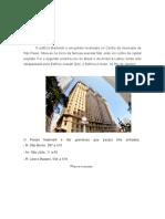Relatório Sobre o Edificio Martinelli