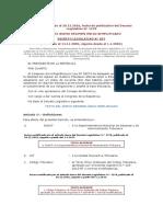 REG. NRUS D.L 937 y Modificatorias.- RUS