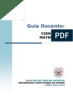 GQ_Guia Docente Ciencia de Materiales_2014_FINAL