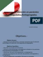 protocolo de paciente anticoagulado