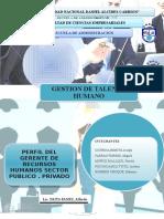 Modelo de Perfil en El Sector Publico y Privado
