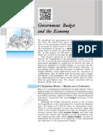 govt budget and economy