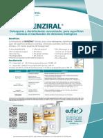 BENZIRAL (Detergente y Desinfectante Concentrado)