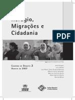 Caderno de Debates 02 Refúgio Migrações e Cidadania