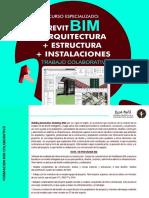 REVIT-BIM ARQUITECTURA ESTRUCTURA Y INSTALACIONES