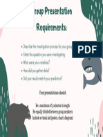 group presentation requirements
