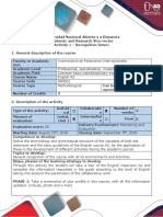 Activity Guide and Evaluation Rubric - Assignment 1-Recognition Forum