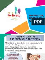 Nutricion, Obesidad y Sobrepeso